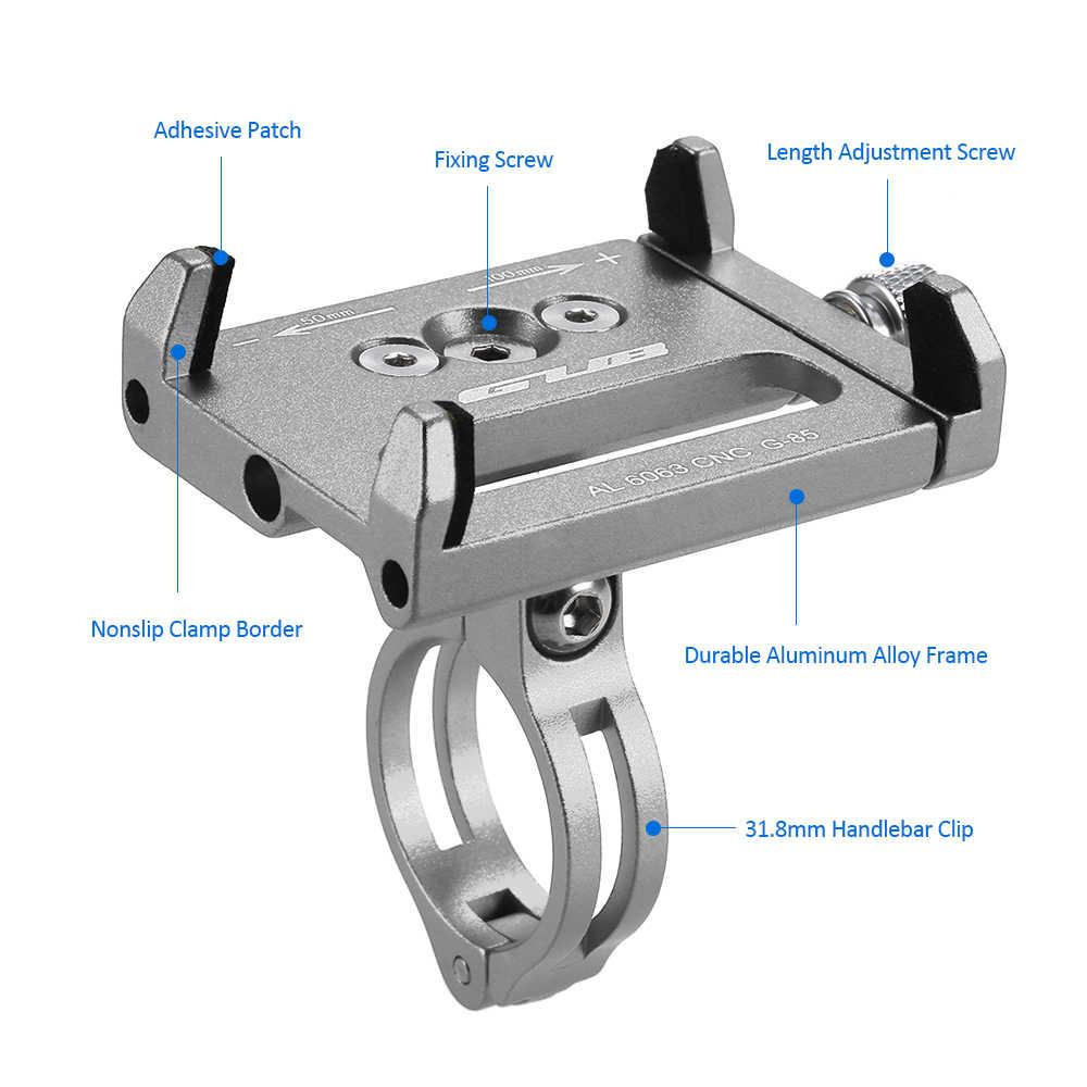 GUB MTB велосипедный держатель телефона держатель Универсальный Регулируемый велосипедный держатель для сотового телефона gps держатель зажим колыбели