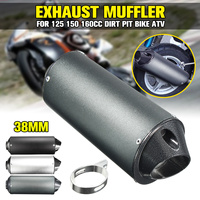 38mm Motorcycle Exhaust Muffler SC GP Escape Exhaust Mufflers For KAWASAKI for HONDA for BMW for KTM Exhaust Pipe 125/150/160CC