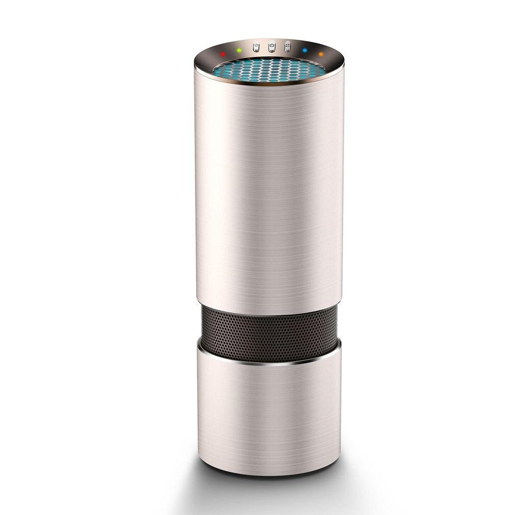 1pc Portable Size 12V Car Air Purifier Air Cleaner Air Purifier Car Remove Smoke Eliminator For Car Home Office