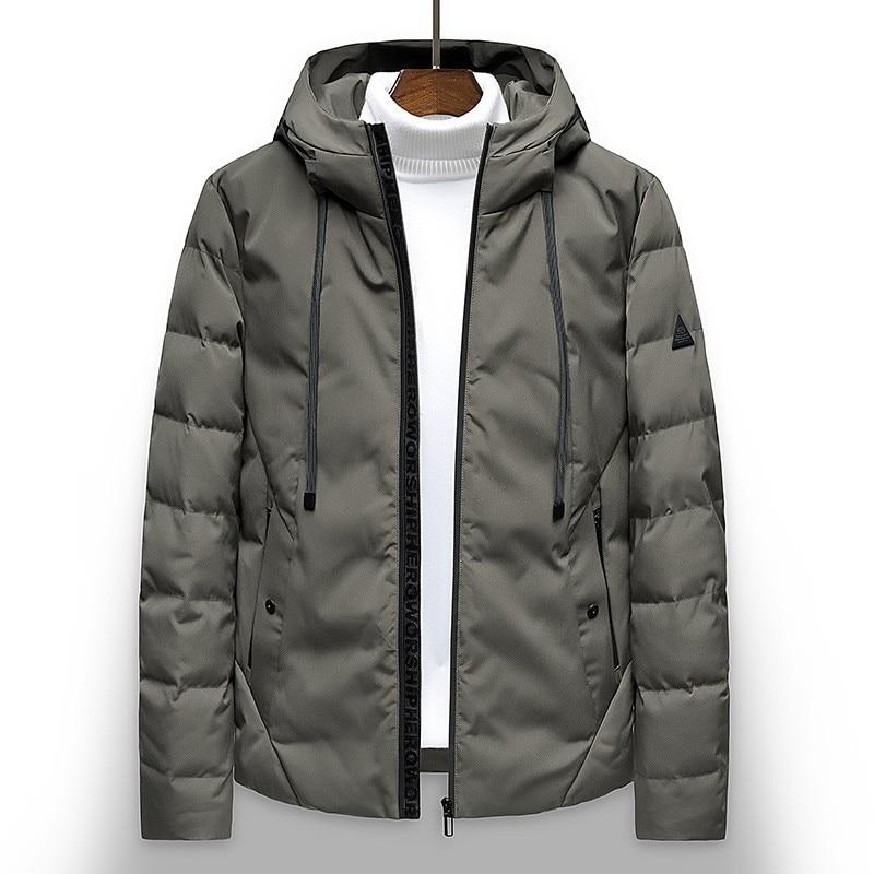 Varsanol Long Thick Cotton Parka Jacket Coat Men 2018 New Brand Parkas Men Hooded Solid Hooded Pocket 10 Degree Parka Men