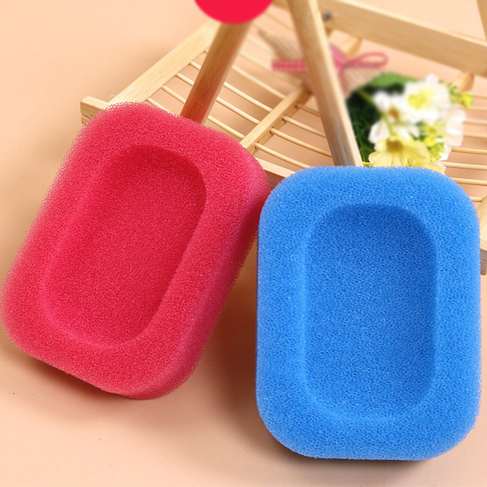 NEW 1 Pcs Bathroom Leachate Absorption Draining Dish Bathing Soap Tray Water Sponge Holder Home Storage Supplies