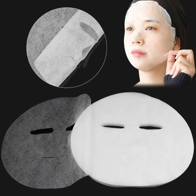 100pcs Disposable Non Compress Face Masks Cotton Silk Facial Sheet Paper Face Care Tool Skin Cleaning Care Makeup Accessories Islamabad