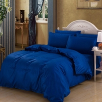 Fashionable Bedding Sets Four Piece Sheet Pure Cotton Comfortable Bed Textile for 1.8M or 2.0M bed Weight 2.35kg ship from US