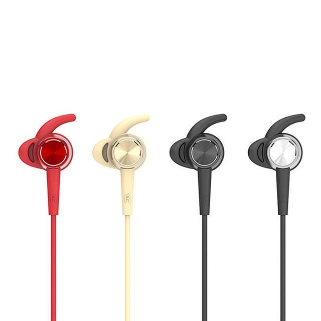 Portabole mini słuchawki douszne silikonowe nauszniki elastyczne metalowe słuchawki douszne Stereo Hd Bass brzmi muzyka otaczająca wycieczka urządzeń