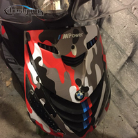 sticker motorcycle Over 10 Kinds Camo Vinyl Wrap Car Motorcycle Decal Mirror Phone Laptop DIY Styling Camouflage Sticker Film Sheet (4)