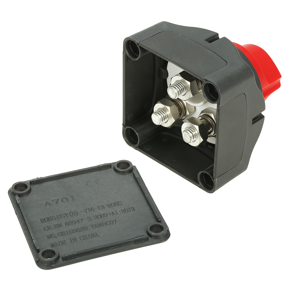 Image 5 - 12V/24V Dual Battery Selector Switch 300A Battery Main Switch 4 Position Switch Selector for Car RV Boat-in Car Switches & Relays from Automobiles & Motorcycles