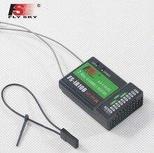 """FLYSKY 2,4G 10CH приемник PPM с выходом iBus для передатчика FPV, гоночного дрона и квадрокоптера, для квадрокоптера, для радиоуправляемого сигнала, с функцией """"FPV"""", для использования на расстоянии до 10 каналов, с портом iBus, для FS iA10B, для квадрокоптера"""