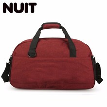 Canvas Portable Travelling Bags Ladies Large Travel Fashion Duffle Carry-on Storage Bag Luggage Organizer Bagsmart