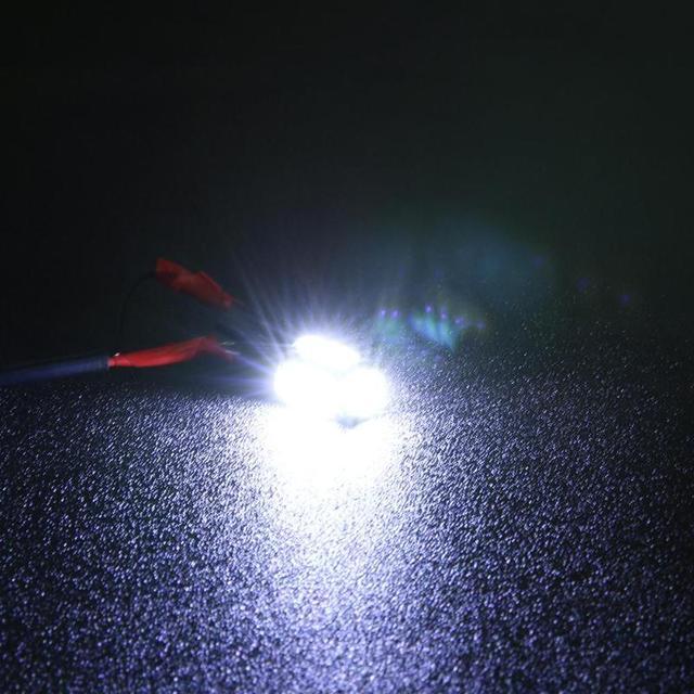 1 Pair DC 12V Car LED Lights T10 7020 10SMD Wedge Light Reading Bulb License Plate Lamp Reversing Lamp High Quality Wedge Lights