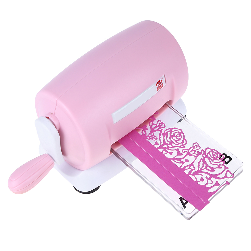 1 PC Machine à gaufrer Portable bricolage Mini découpage à l'emporte-pièce Machine Pour La Maison Boutique de L'école Enfants Arts et Artisanat bricolage Jouets