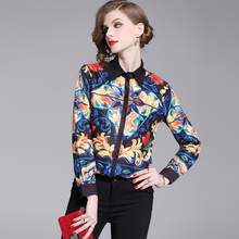 Banulin 2019 Spring Long Sleeve Shirts Womens Tops And Blouses Vintage Shirt Runway Blouse Chemise Femme Manche Longue B3159