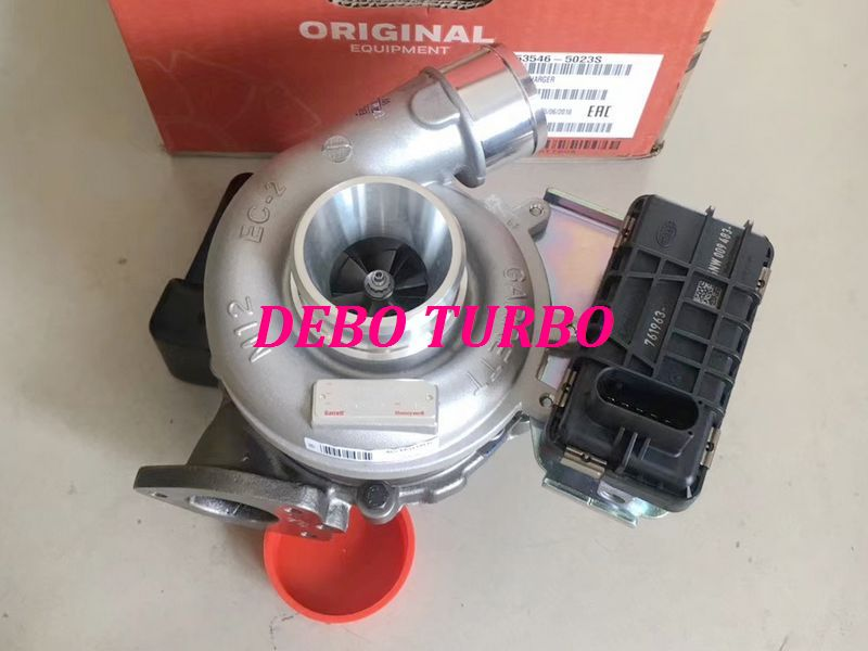 NEW GENUINE GARRETT <font><b>GT1752V</b></font> 753546-5023 LR006862 Turbocharger for LAND ROVER Freelander II DW12B 2.2TD4 118KW image