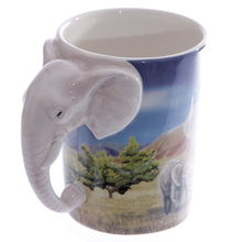 Mug Creative Coffee Elephant Panda-Cup Gift Milk-Tea Shaped-Handle Ceramic-Design Cute