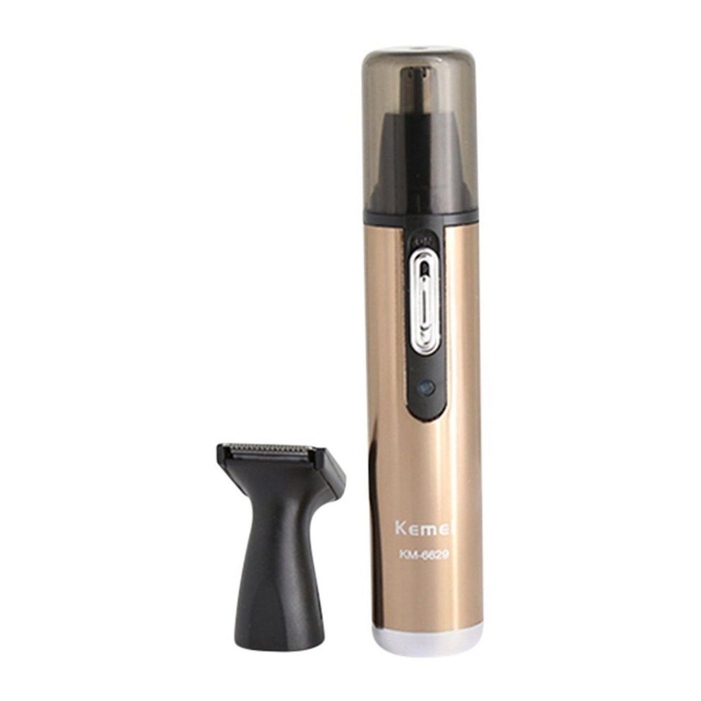 Kemei tondeuse de nez & flancs tondeuse cheveux avec Micro-toiletteur km-6629 orKemei tondeuse de nez & flancs tondeuse cheveux avec Micro-toiletteur km-6629 or