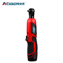 цена AOBEN 12V 3/8 Electric Wrench Rechargeable Scaffolding Cordless Ratchet Wrench в интернет-магазинах