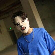 מגניב חדש Slipknot מסכת קורי טיילור קוספליי לטקס מסכת טלוויזיה Slipknot מסכת ליל כל הקדושים קוספליי תחפושת אבזרי 3 סוגים