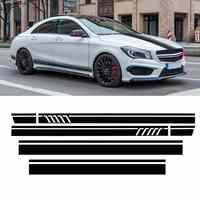 Auto Racing Tür Dach Sport Side Stripes Rock Aufkleber Aufkleber für Mercedes für Benz W117 C117 X117 CLA-AMG