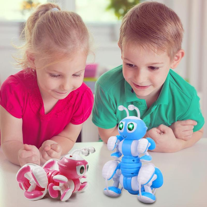 RC Ant Robot jouet parlant Dialogue Robot Ant programmation intelligente jouet pour animaux de compagnie jouets éducatifs pour la créativité des enfants