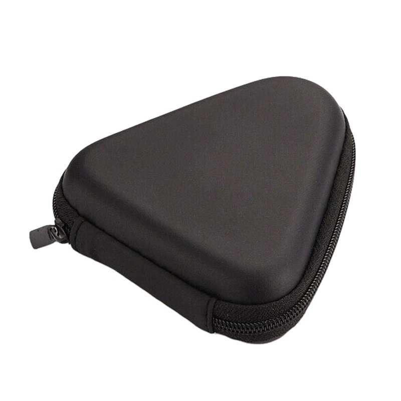 Keras Penyimpanan Case Kotak Hadiah untuk Tri Gelisah Tangan Spinner EDC Fidget Spinner Mainan (Hitam-Segitiga)