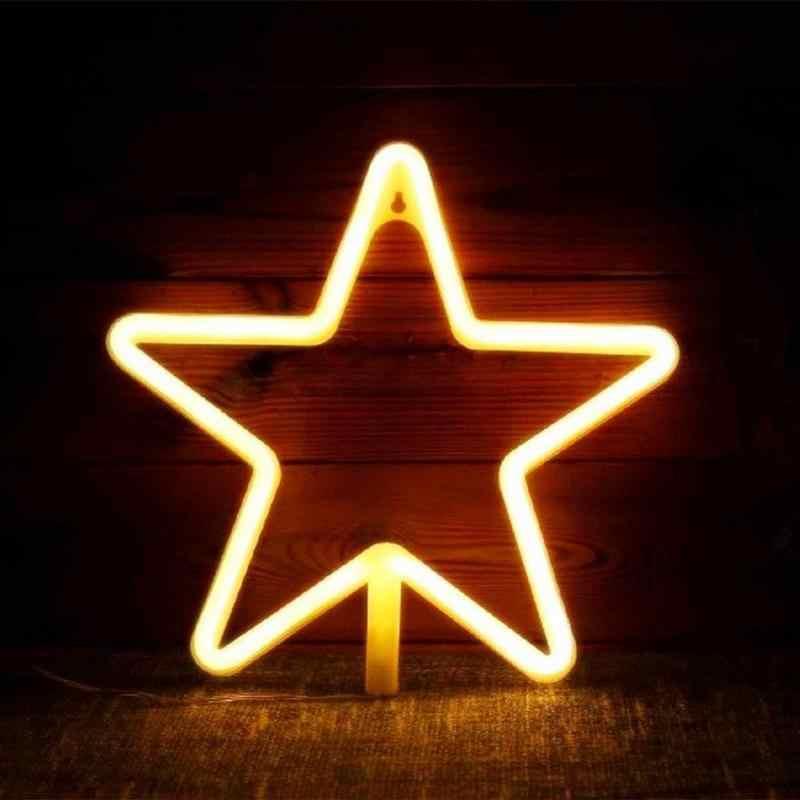 2019 Sáng Tạo Neon Ký Sáng Trẻ Em Phòng Đèn Ngủ Cà Phê Thanh Bức Tranh Tường Làm Bữa Tiệc Gia Đình Trang Trí Đám Cưới Quà Giáng Tặng neon Đèn