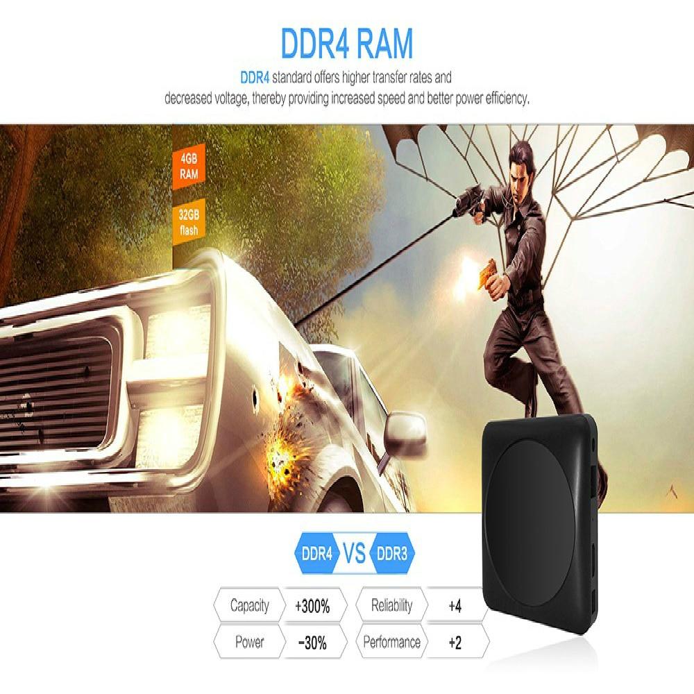 MAGICSEE N6 MAX TV Box 4GB 32GB Rockchip3399 Android 7 1 2 4G 5GWiFi  1000Mbps USB3 0 OTG BT4 1 Set-top Box