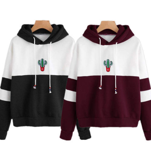 Long Sleeve Pullover Hooded   1