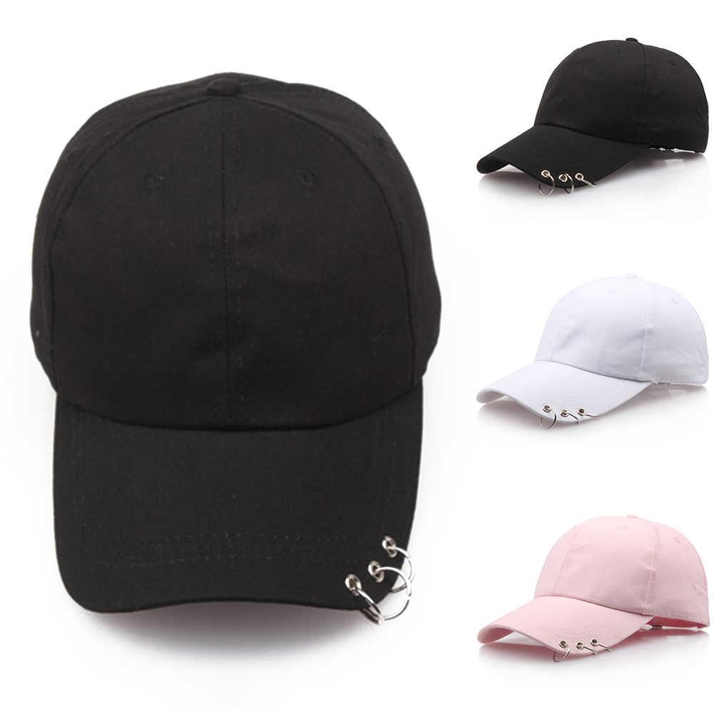 قبعة بيسبول مع خواتم bts jimin قبعة BTS لايف الشرير الهيب هوب قبعات القطن Hoats Bts قبعة حلقة الحديد القبعات قابل للتعديل قبعة بيسبول