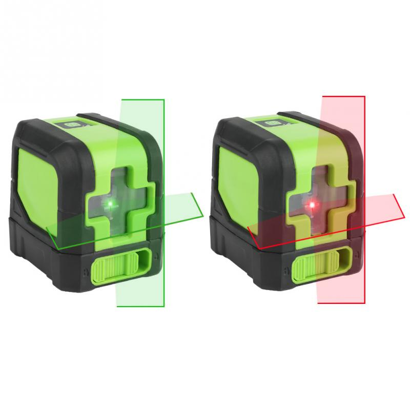 9011G R 2 Lines Laser Level Self Leveling Level Laser Line Instrument Hight Accuracy Waterproof IP54