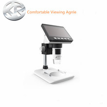 1000XTIMES DIGITAL MICROSCOPE ELECTRONIC VIDEO MICROSCOPE 4.3 INCH HD