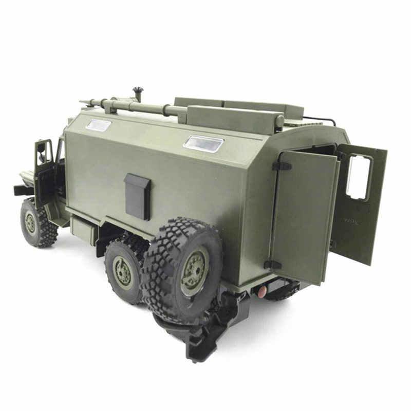 WPL B36 Ural 1/16 2.4G 6WD RC Truck Militaire Auto Rock Crawler Voertuig RTR Speelgoed Auto Leger Vrachtwagens Jongen outdoor Speelgoed VS WPL 24 C34