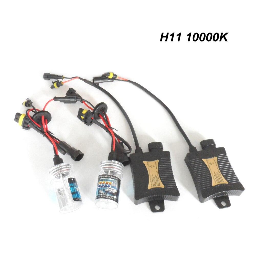 Replace Xenon Lamp Auto Accessories Complete Range Of Articles Xenon Kit Headlight Bulbs Slim Ballast 12v 55w For H1 /h3/ H7/ H11/ 9005 /9006 hb3 hb4