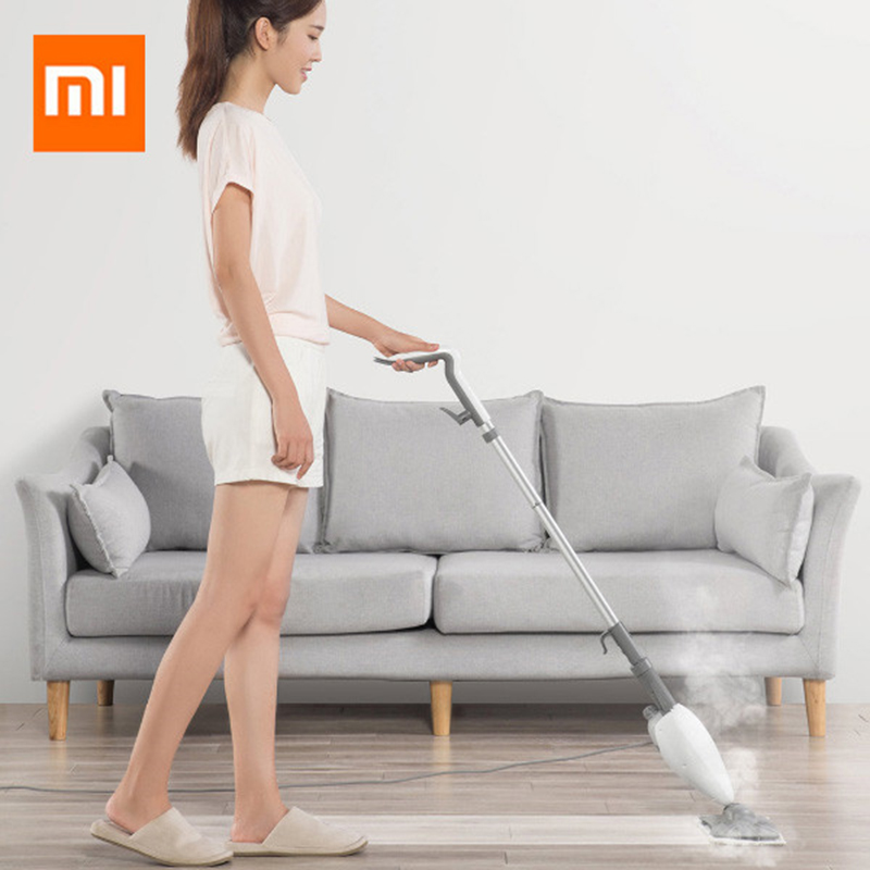 Original Xiaomi Mijia Deerma High Temperature Steam Sterilization Mop Dust Collector Dust Floor Cleaner With Carpet Skateboard