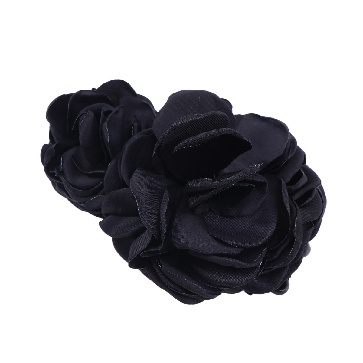 black Creative Women Artificial Hair Clip Barrette Ponytail Holder Elegant Headdress Ponytail Holder For Hair Styling Outstanding Features