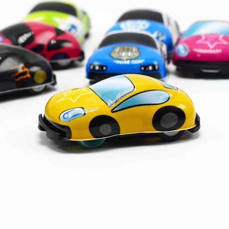 Mini Bayi Anak Laki-laki Kecil Mainan Mobil Kartun Anak-anak Mini Truk Konstruksi Mesin Kendaraan Paduan Model Mobil Anak-anak Hadiah