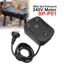 240V Motor SP-P01 Barbeque BBQ Spit Rotisserie For Roasted Lambs Piglets Chicken AU Plug 2-3R.P.M Speed(China)