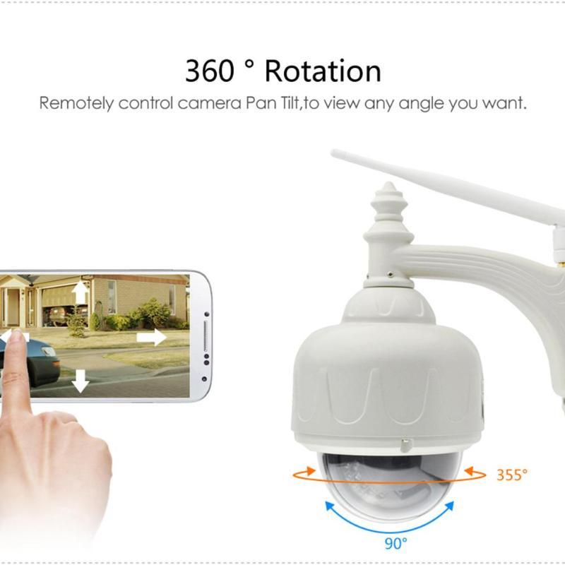 Vstarcam EU/US C33/C33-X4 720 P HD 1MP caméra IP WIFI sans fil extérieure IP66 étanche Vision nocturne caméscope réseau Webcam nouveau