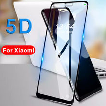 5D Protective Glass For Xiaomi Mi A1 A2 Lite 5x 6x 5 6 X Tempered Glas Case On Ksiomi Xiomi Xiami Xaomi My A 1 2 1a 2a A2lite 9h(China)