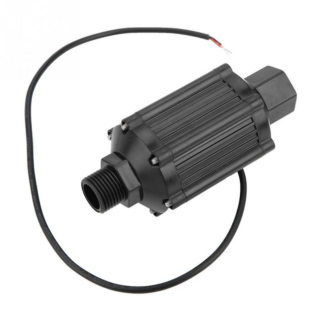 1 個 LG39 DN15 片吸込パイプラインポンプ 12V 18 ワット高圧水パイプラインブースターポンプ家庭用業界化粧品