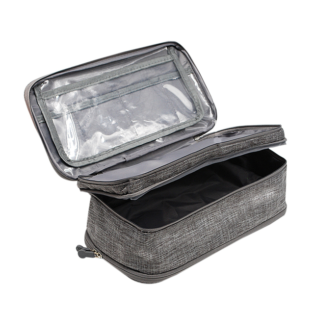 BUCHNIK Women Underwear Bags Portable Travel Compartment Wash Cosmetic Clothes Organizer Fashion Bra Storage Cases Accessories 5