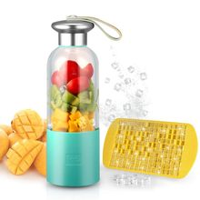Portable Smoothie Blender Small Blender Usb Rechargeable Single Served For Shakes And Smoothies, Fruit Mixer Machine For Ice F