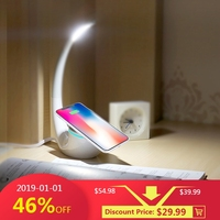 Nillkin QI Intelligent Wireless Charger Charging Mat Energy Save Phantom wireless charger lamp for iPhone for Samsung S8 Note 8