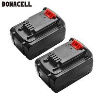 Bonacell 4.0Ah LB20 블랙 & 데커 LBXR20 LB20 LBX20 ASL186K BDCDMT120 CHH2220 LD3K220 LPP120 LST120 L10
