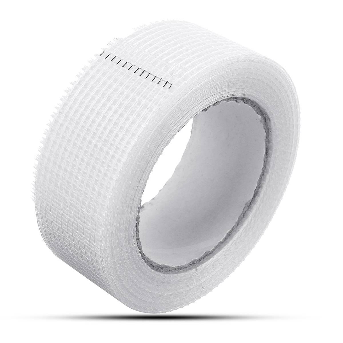 25mm 1 Rolls Plain Weave Fiberglass Cloth Tape E-Glass wide Fiber