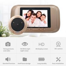 3,5 в ЖК-дисплей дверной звонок 1MP 720 P HD 90 градусов видео-глаза дверной глазок Система безопасности IR ночного видения дверной глазок с камерой