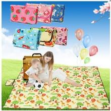 Baby Crawling Play Mat Climb Pad Waterproof Folding Picnic Mat Outdoor Camping Beach Mat Playmat Kids Carpet Baby Game
