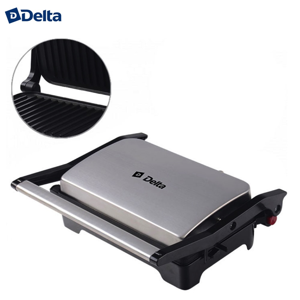 цена на Electric Grills & Electric Griddles delta 0R-00003490 Cooking Appliances Electric Press Grill DL-048 kitchen