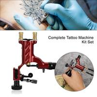 Dragonfly Rotary Tattoo Machine Shader & Liner 7 Colors Assorted Tatoo Motor Gun Kits Supply For Artists Complete Body Art Tools