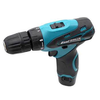 East 12V Lithium Battery Torque Electric Drill bit cordless Electric Screwdriver hand wrench with tool box set