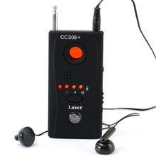 Nowy pełnozakresowy wykrywacz błędów anty-szpiegowskich CC308 Mini kamera bezprzewodowa ukryty sygnał wyszukiwarka urządzeń GSM prywatność chroń bezpieczeństwo
