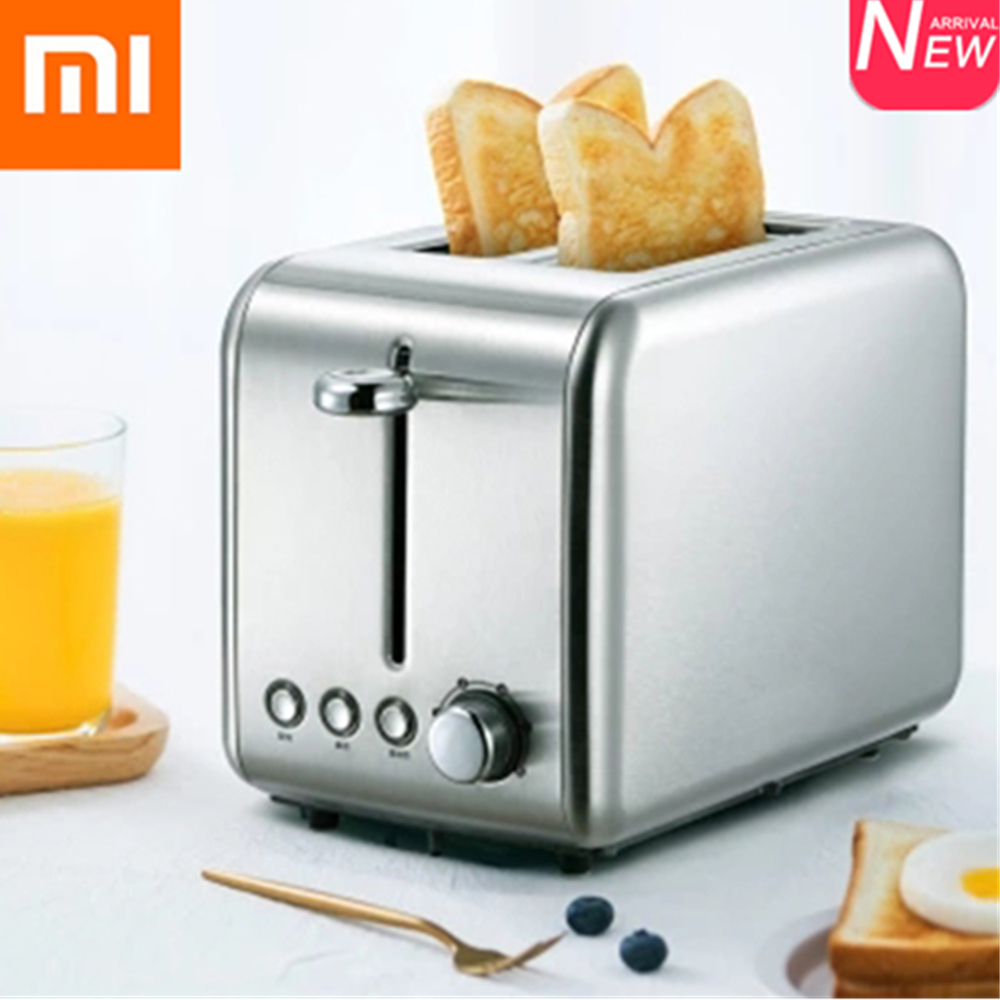 Xiaomi Deerma Bread Baking Machine Electric Toaster Household Automatic Breakfast Toast Sandwich Maker Reheat Kitchen Grill Oven